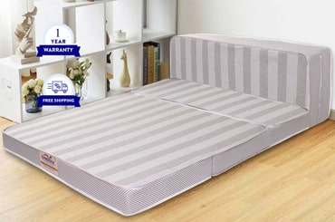 Buy tri folding travel mattress online