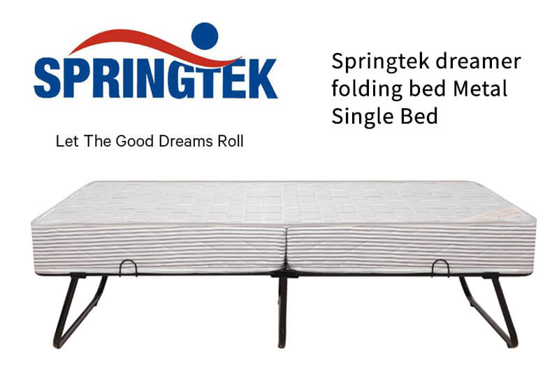 Buy thick comfortable folding bed with mattress online in india
