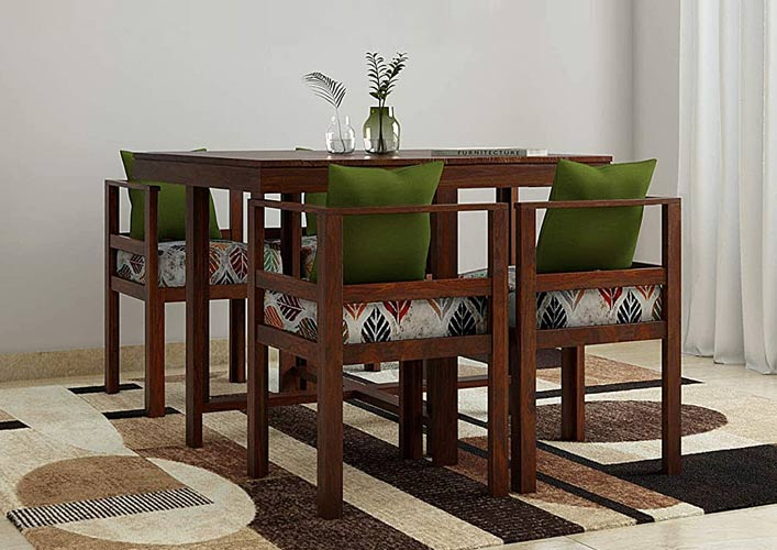 Springtek Amaze Dining Table With 4 Chairs