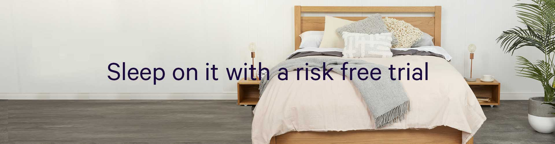 Buy mattress online with risk free trial - Springtek